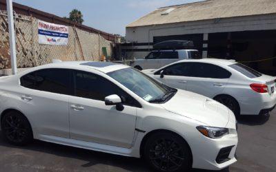 Subaru WRX 20% Tint