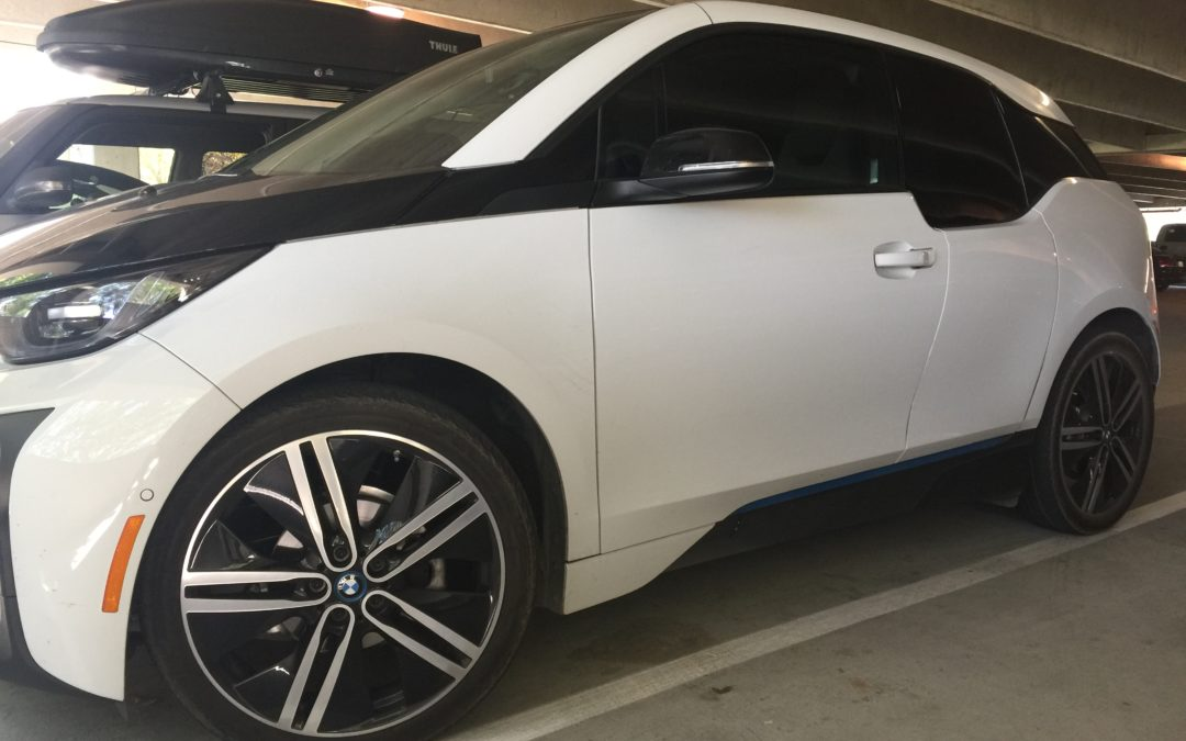 BMW i3 30% and 5% Limo on rear windows.